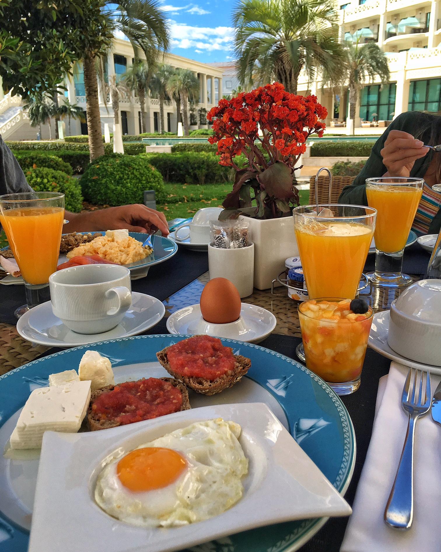 cafe da manhã Las Arenas