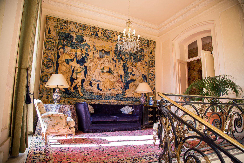 Hall dos quartos do Les Crayeres