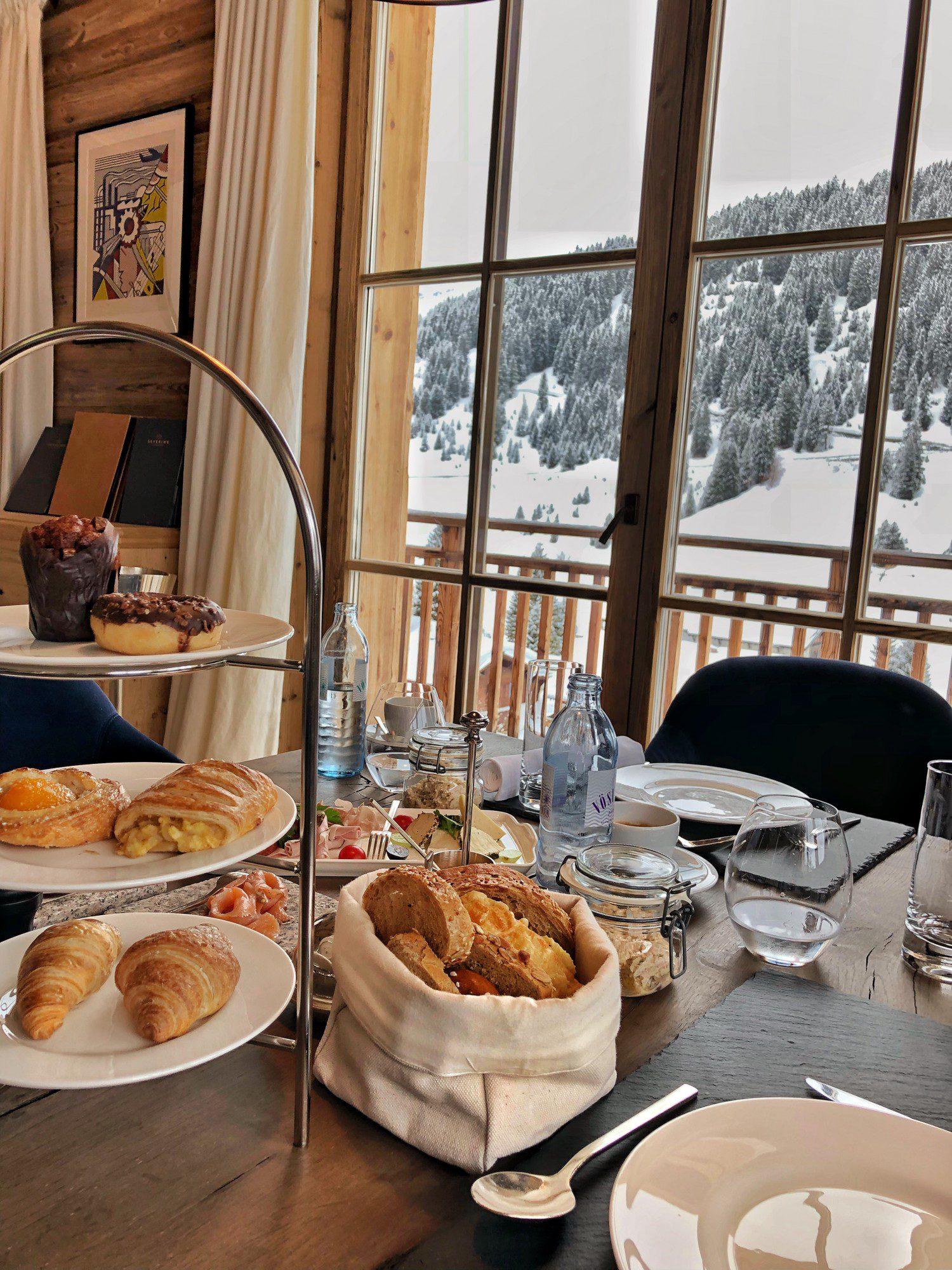 Café da manhã Hotel Sevein's